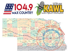 KMTX-KAWL Map graphic