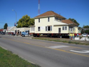 Two story home makes move from Morrill to Harrison