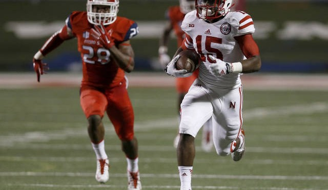 De'Mornay Pierson-El uncorked an 86-yard punt return for a touchdown in the second quarter. (NU Media Relations)