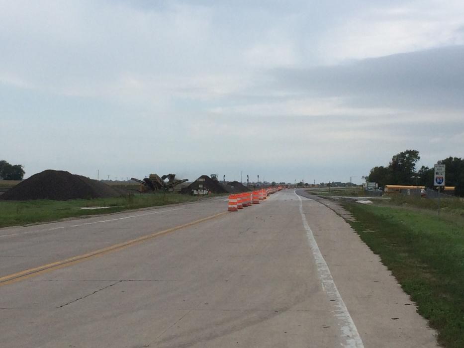 RRN/Highway 30 west of Lexington