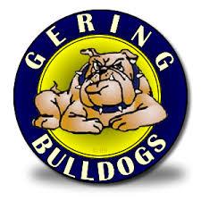 gering bulldog logo