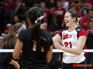 Huskers and Bluejays renew volleyball series