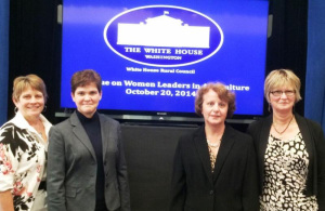Johnson Represents NCGA at White House Event on Women in Ag