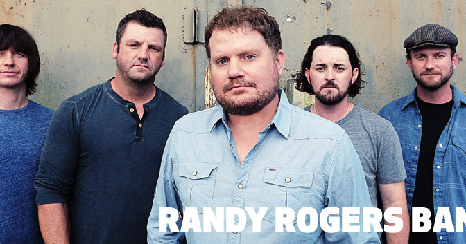 Courtesy/ WME Entertainment.  Randy Rogers Band.