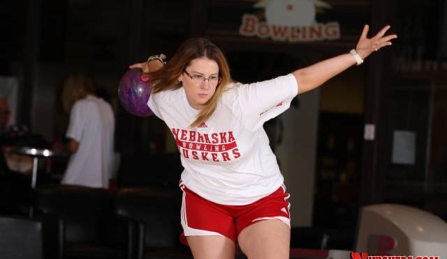 Husker bowler Liz Kuhlkin, Courtesy of NU Media Relations