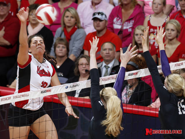 Huskers Win Big at Home