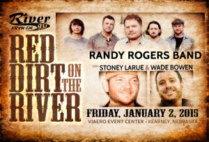93.1 The River and Viaero Event Center announce Red Dirt on the River
