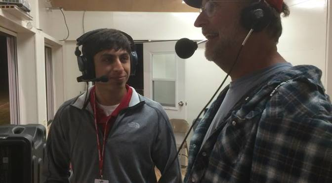 RRN/RRN's Tyler Cavalli interviewing Sports Illustrated Photographer Bill Frakes.