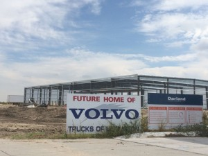 Volvo Trucks move into Lexington
