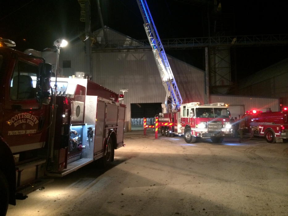 Fire at U.S. Chicory early Thursday morning