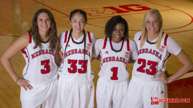 Nebraska's four returning starters(Photo courtesy of UNL Sports Information).