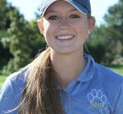 Gering's Sami Rahmig was the B-4 District medalist Monday in Lexington(Photo courtesy of Sami Rahmig)