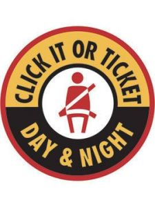 Click It or Ticket Campaign later this month