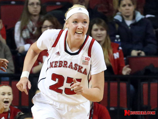 Cady Leads Huskers To Win