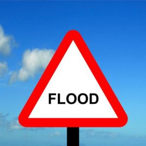 Flood warning issued for part of Hall County