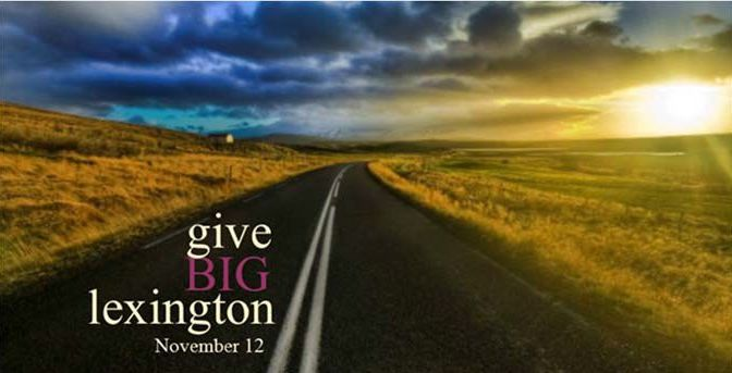 Courtesy/ Lexington Community Foundation.  Give BIG Lexington.