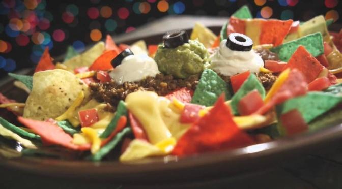 Taco Johns Nachos Navidad