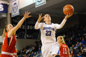 Creighton women down Cincinnati