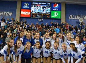 Creighton volleyball sweeps to Big East title