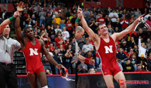 Huskers poised for conference wrestling meet