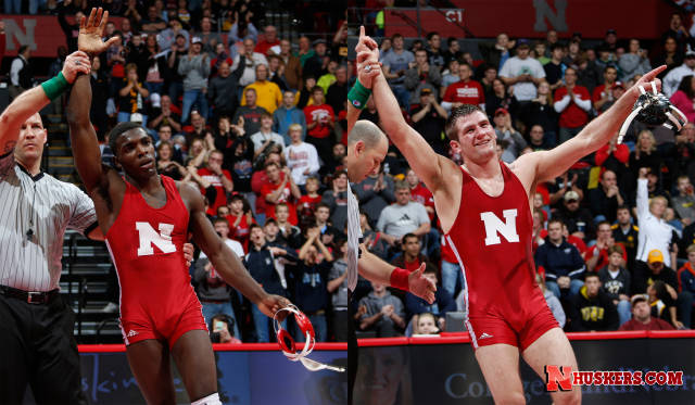 Kokesh and Green both finish third for the Huskers