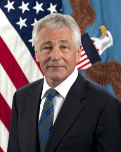 Hagel is stepping down