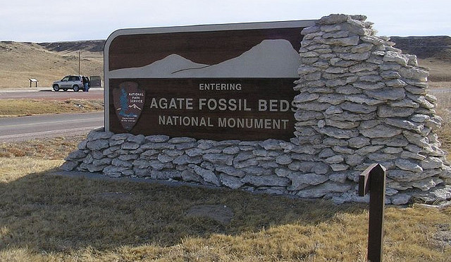 Photo from Agate fossil Beds website