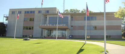Cuming County Courthouse-sized