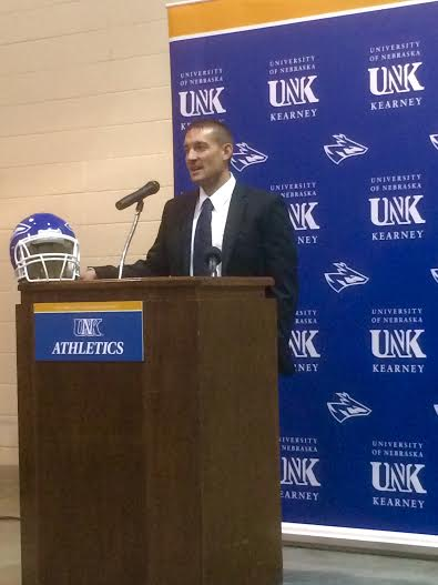 Lamberson Introduced As UNK Head Coach