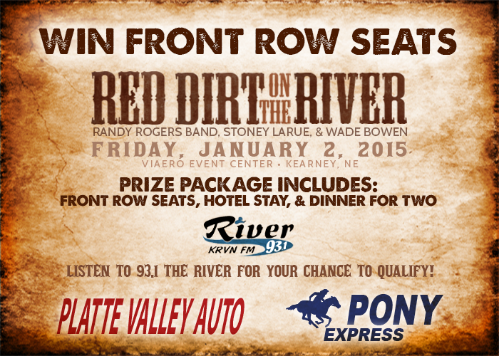 RedDirt-FrontRowSeats-Contest