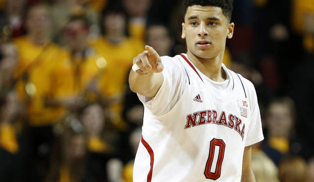 Webster plays big for the Huskers(Photo courtesy of UNL Sports Information).