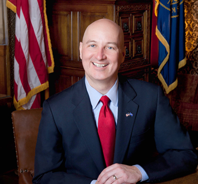 Courtesy/Governor's Office. Governor Pete Ricketts.