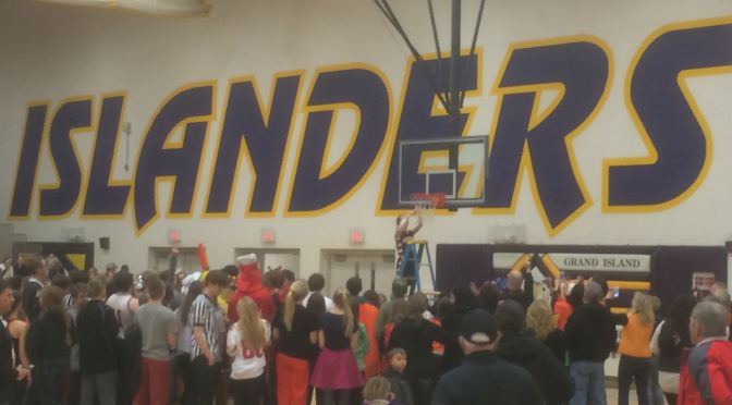 RRN/Hastings girls cut the nets down for the first time since 1998.