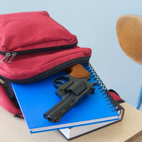 7-year-old student found with unloaded handgun on bus