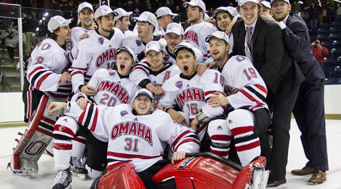 Mavericks Headed To Frozen Four, Picture Courtesy Omaha Sports Information