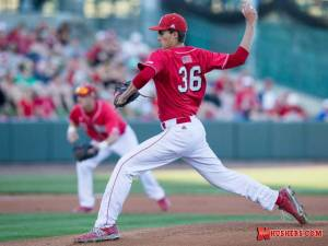 Record crowd watches another pitching gem for the Huskers