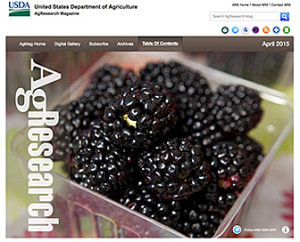 USDA Agency Retools Its Monthly Science News Magazine