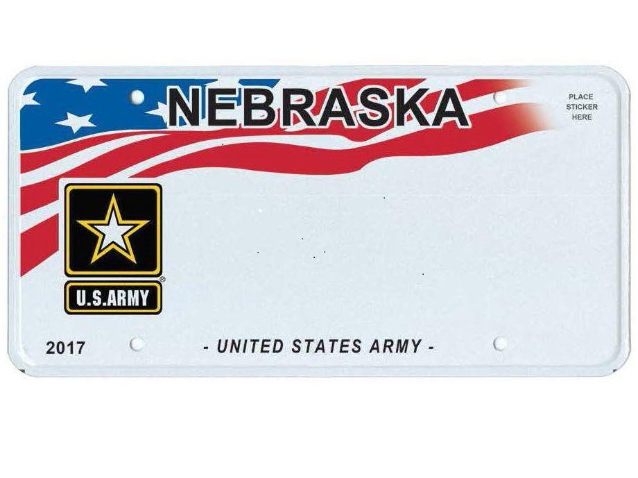 Nebraska introducing new military honor license plates kneb for State of nebraska department of motor vehicles