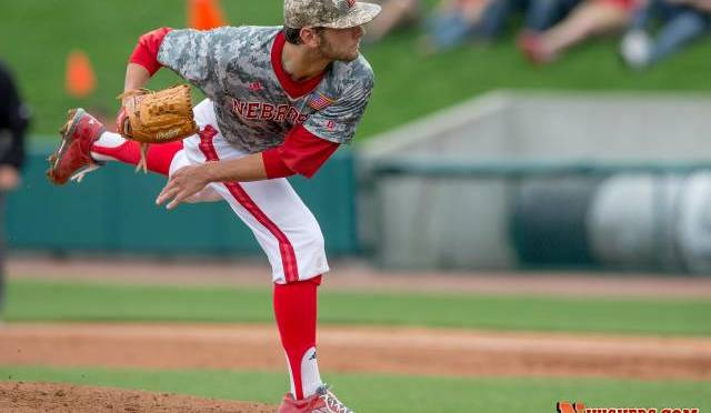 Kyle Kubat went a career-high 9.0 innings in the loss Photo Courtesy Nate Olsen/NU Media Relations