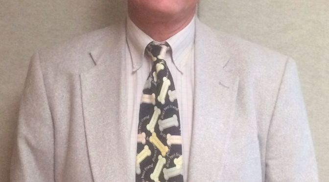 RRN/Volunteer, Steve Garcia of Paw Prints of Dawson County.