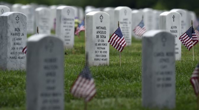 Arlington National Cemetery (AP Photo/Susan Wal