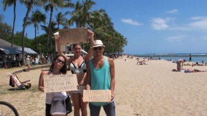 Hawaii Groups Protest Agains Monsanto Research