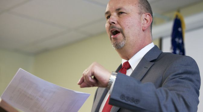 Courtesy/Associated Press. Scott Frakes, director of the Nebraska Department of Corrections.