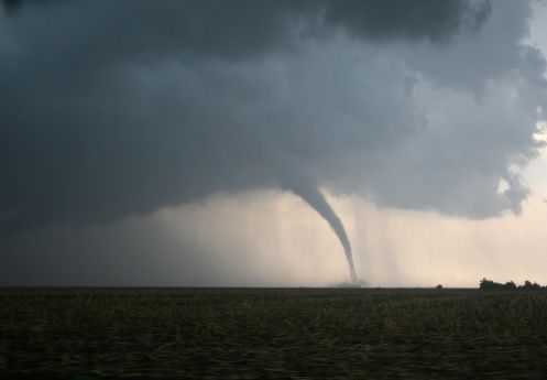 Tornado touches down near town ravaged by 2014 twister
