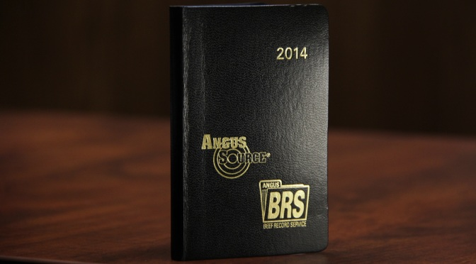 Cattlemen's Black Book Courtesy of American Angus Association.