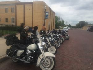 (Audio) Eagle Riders collect letters to raise awareness about children's mental health
