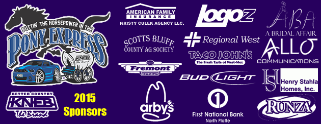 Pony Express Sponsors