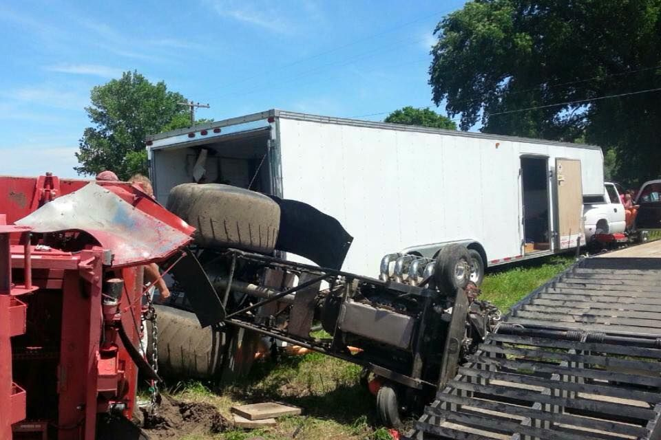 Tractor Pulling Accidents : Boelus tractor pulling accident names released