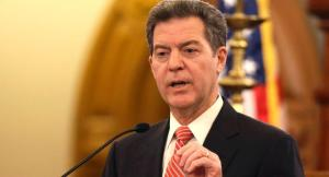 Kansas Governor Won't be Present for Budget Announcement