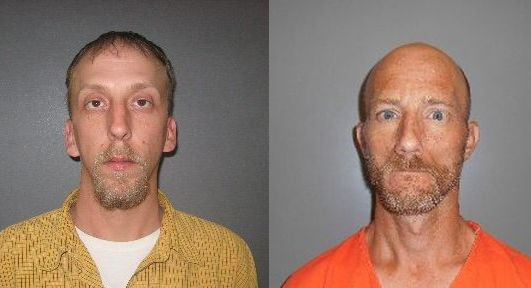 Courtesy/ Furnas County Sheriff's Office.  (l) Greg Jones Jr., Troy Kruger.